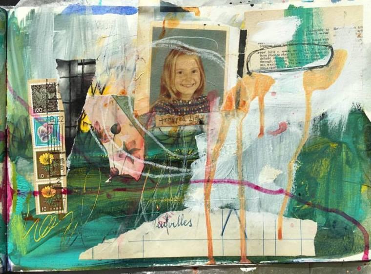 art journal -trapped light